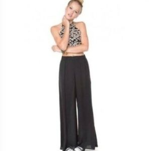Brandy Melville Black Wide Leg Palazzo Pants